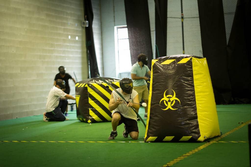 Indoor Archery Tag Arena