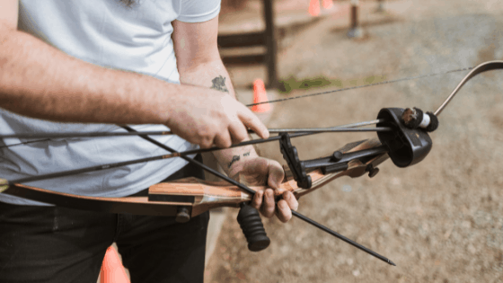 How To Set Nocking Point With Bow Square